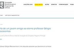 """<h6><a href=""""https://portal.sbpcnet.org.br/noticias/carta-de-um-jovem-amigo-ao-eterno-professor-sergio-mascarenhas/"""">Carta de um jovem amigo ao eterno professor Sérgio Mascarenhas</a></h6><p><a href=""""https://portal.sbpcnet.org.br/noticias/carta-de-um-jovem-amigo-ao-eterno-professor-sergio-mascarenhas/"""" target=""""_blank"""" rel=""""noopener"""">SBPC</a></p>"""