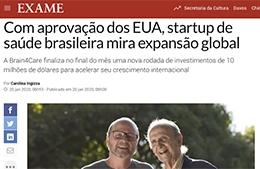 """<h6><a href=""""https://exame.com/pme/com-aprovacao-dos-eua-startup-de-saude-brasileira-mira-expansao-global/"""">Com aprovação dos e.u.a., startup de saúde brasileira mira expansão global</a></h6><p><a href=""""https://exame.com/pme/com-aprovacao-dos-eua-startup-de-saude-brasileira-mira-expansao-global/"""" target=""""_blank"""" rel=""""noopener"""">Revista Exame</a></p>"""
