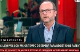 """<h6><a href=""""https://www.youtube.com/watch?v=AKhPA8ISe4U"""">Brasil é o país com maior tempo de espera para registro de patentes</a></h6><p><a href=""""https://www.youtube.com/watch?v=AKhPA8ISe4U"""" target=""""_blank"""" rel=""""noopener"""">GloboNews</a></p>"""